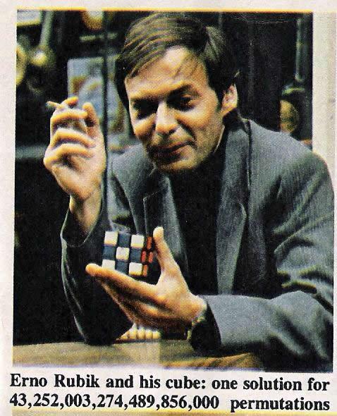 Люди, умеющие собирать кубик